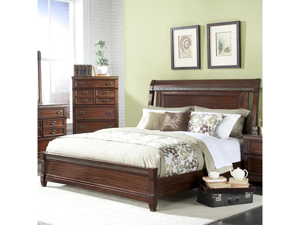 Vaughan Furniture Morgan RoadQueen Sleigh Bed