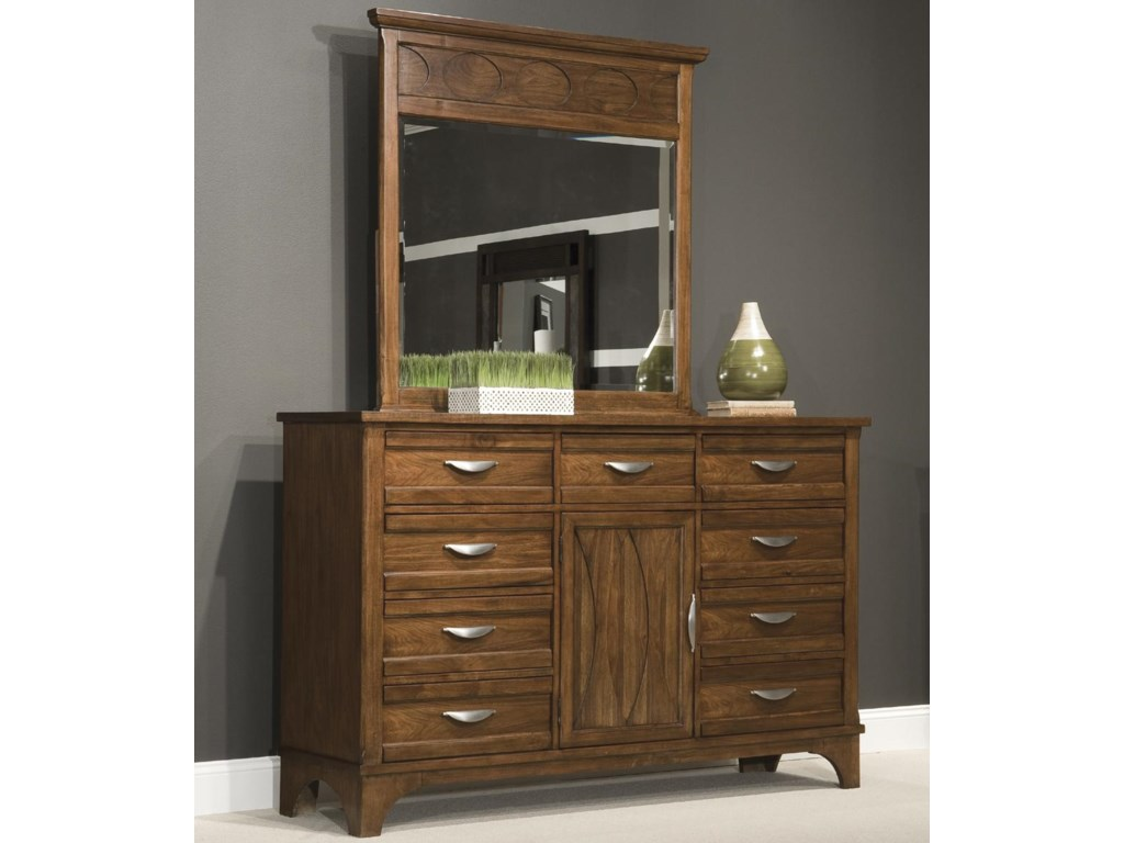 Vaughan Furniture RadianceDresser and Mirror Combo