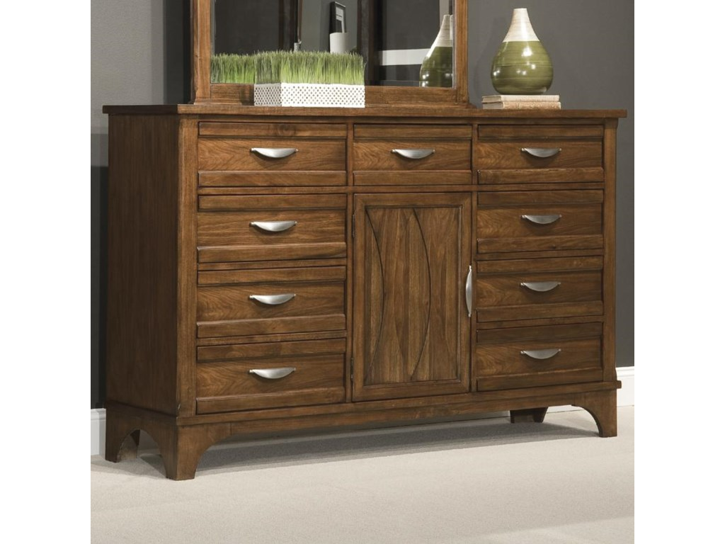 Vaughan Furniture RadianceDresser with 9 Drawers and 1 Door