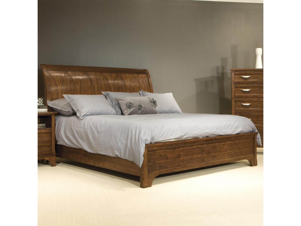 Vaughan Furniture RadianceKing Sleigh Bed