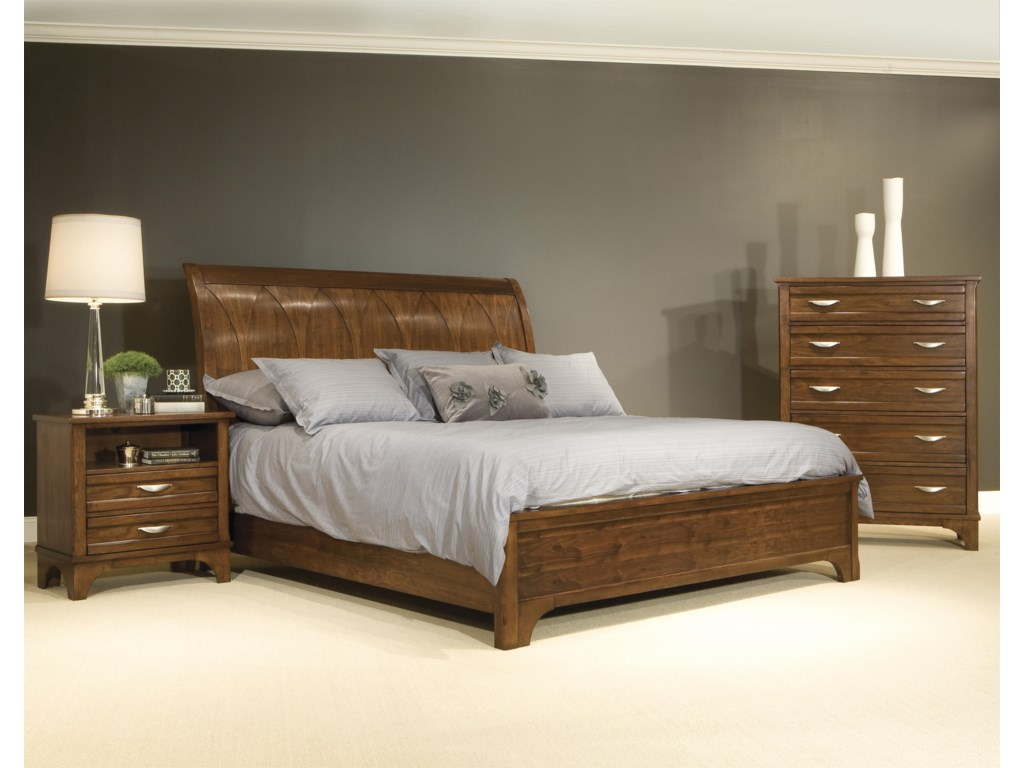 Vaughan Furniture RadianceQueen Sleigh Bed