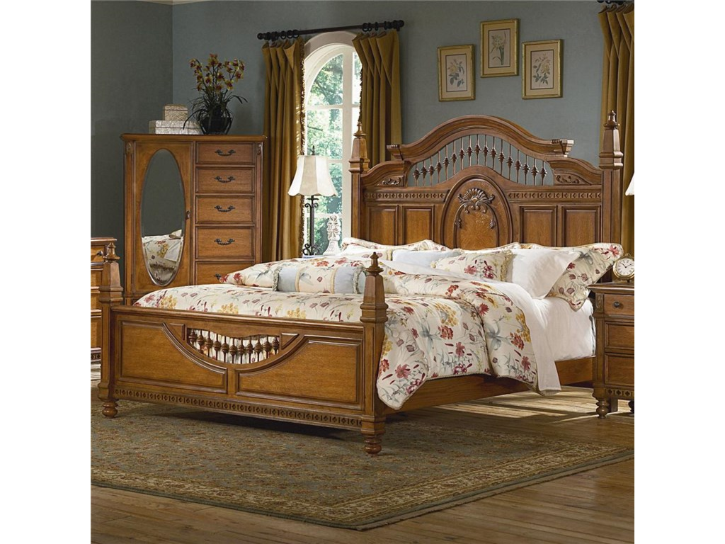 Vaughan Furniture Southern HeritageKing Spindle Bed