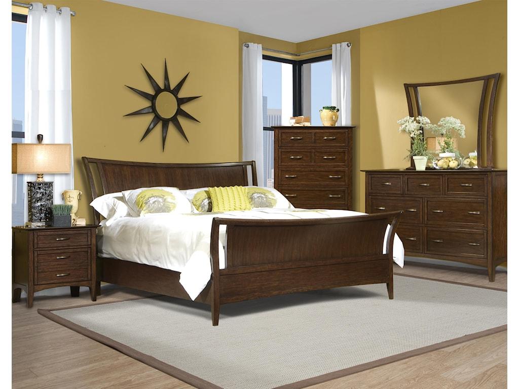 Vaughan Furniture Stanford HeightsDresser Mirror