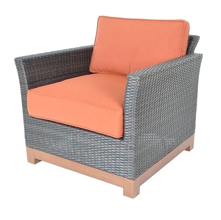 Veranda Classics By Foremost Metro Woven Club Chair