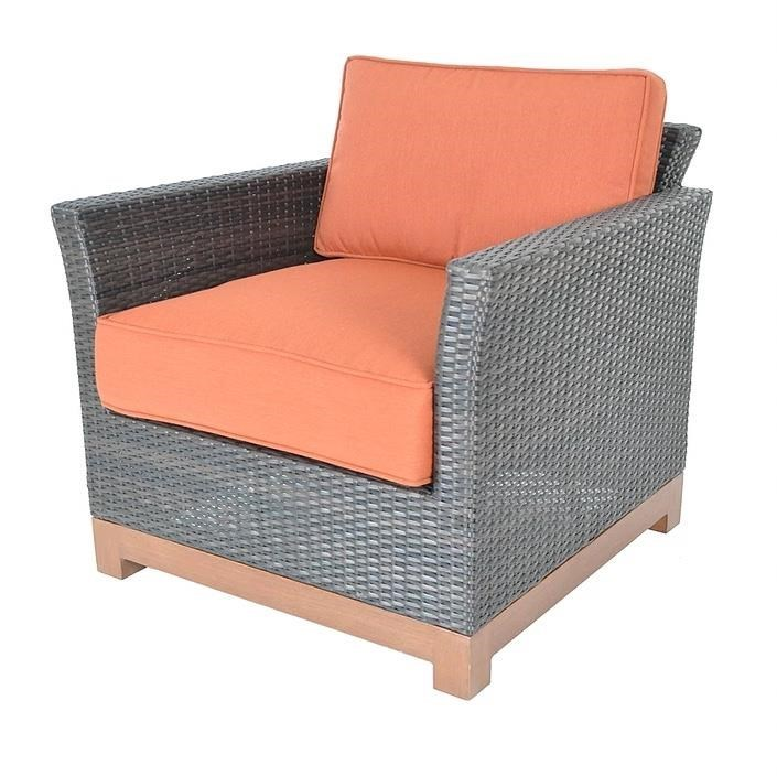 Veranda Classics By Foremost Metro Woven Club Chair