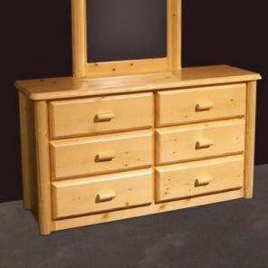 Northwoods Six Drawer Dresser