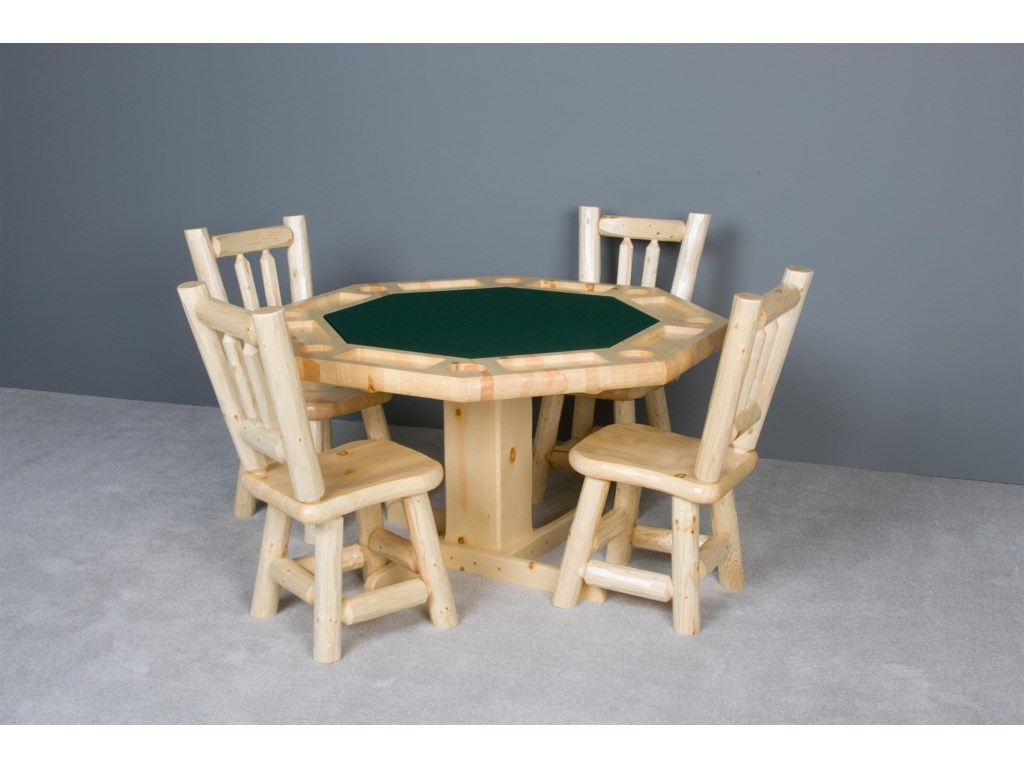 Shown with Wood Seat Dining Chairs