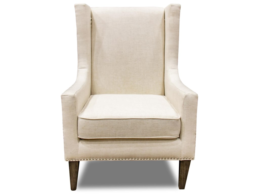 Villa Home Collection Erie Club ChairErie Ivory Club Chair