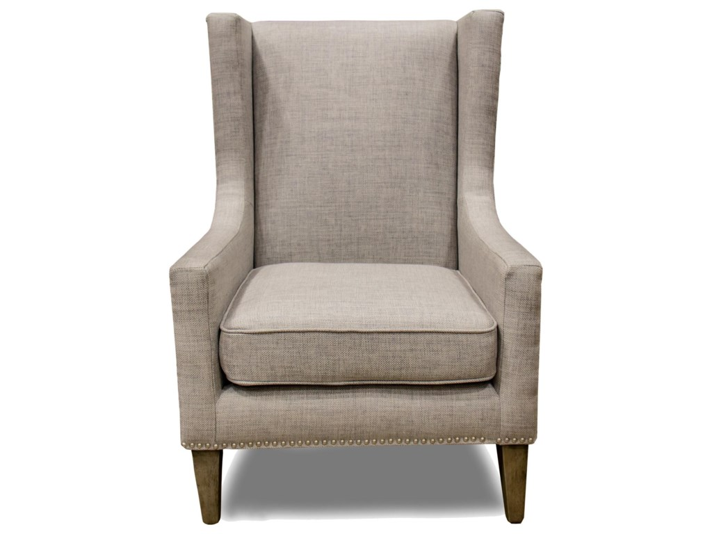 Villa Home Collection Erie Club ChairErie Gray Club Chair
