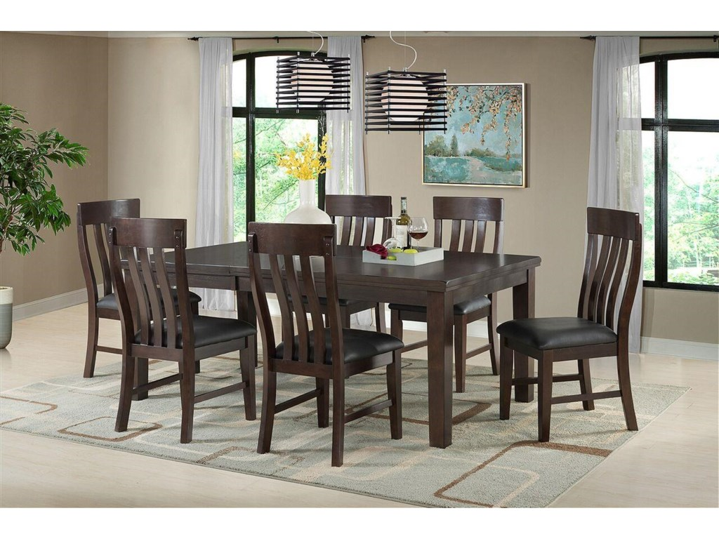 Vilo Home Cumberland7pc Dining Set