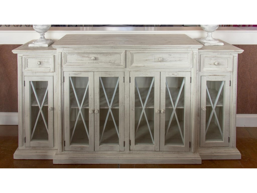 Vintage AccentsBarcelona White Console