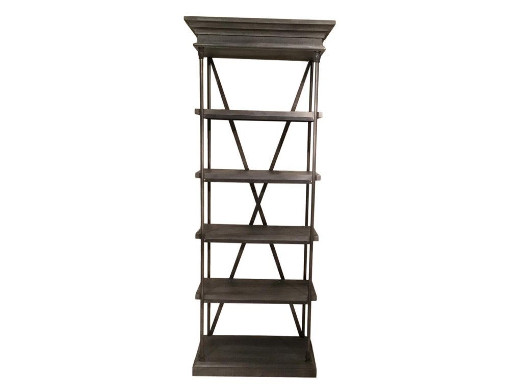 Accents Addison Small Bookcase By Vintage At Great American Home Store