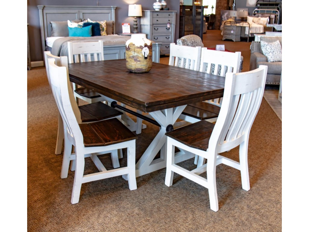 Vintage Canyon Creek7pc Dining Group