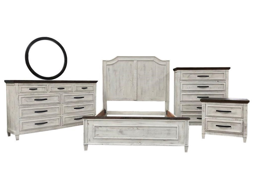 Vintage WillowTwo-Toned Dresser