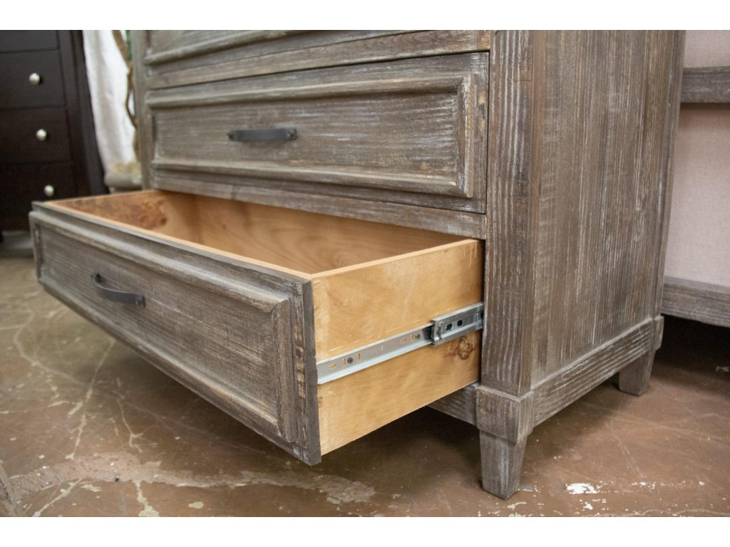 Vintage AustinBarnwood Drawer Chest