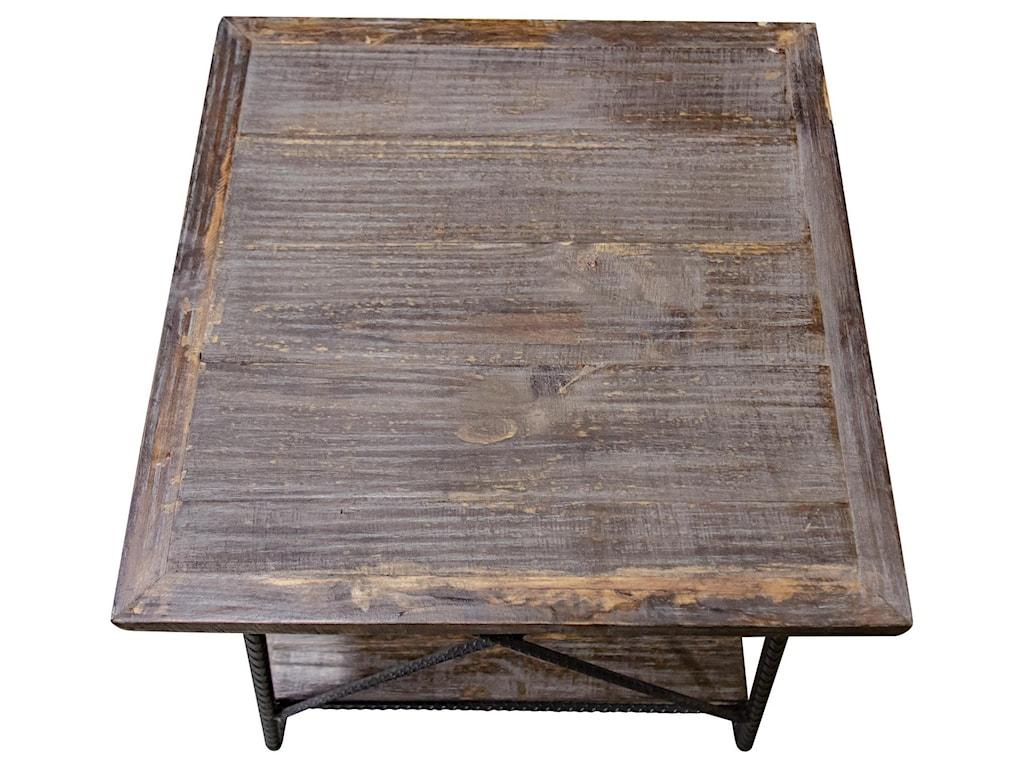 Vintage Industrial LivingEnd Table