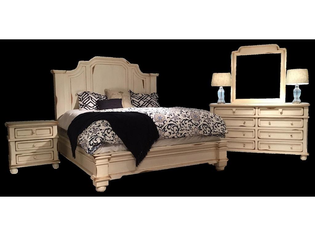 Vintage MarlaKing Bed