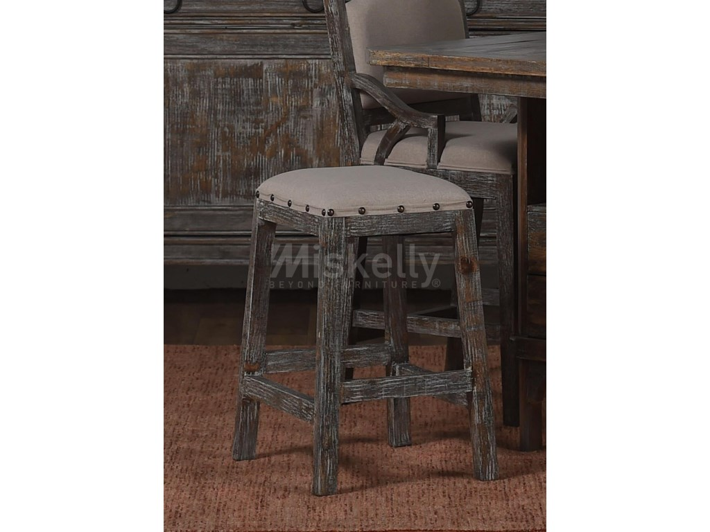 Vintage AVALONPadded Bar Stool