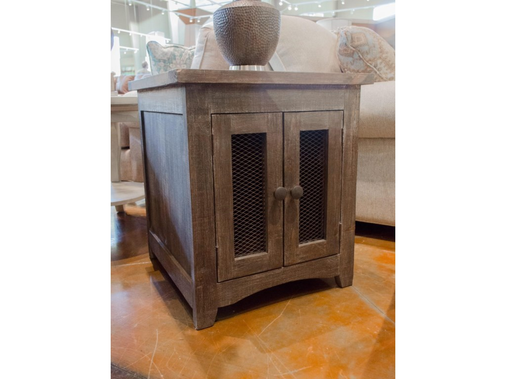 Vintage Occasional TablesBarnwood End Table