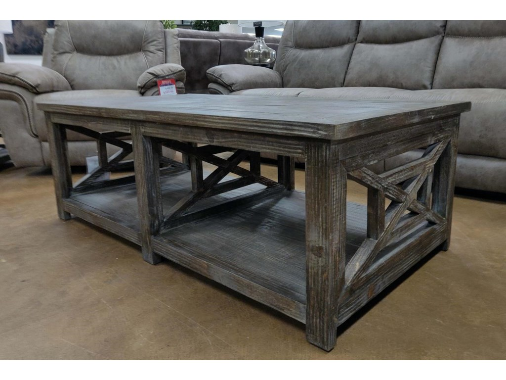 Vintage Occasional TablesBarnwood Cocktail Table