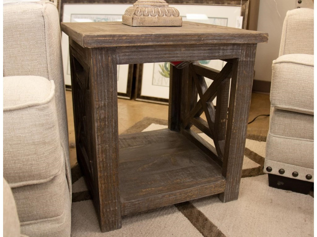 Vintage Occasional TablesX Squared End Table