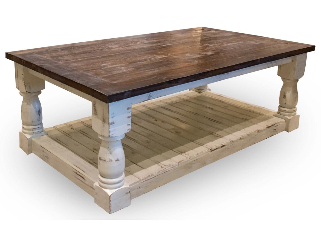 Vintage Occasional TablesVineyard Coffee Table