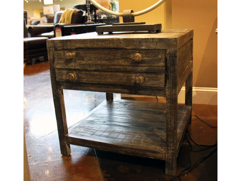Vintage Occasional TablesToluca Barnwood End Table