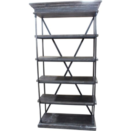 Iron Bookcase