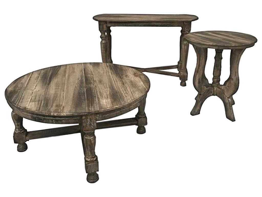 Vintage TiffanySofa Table