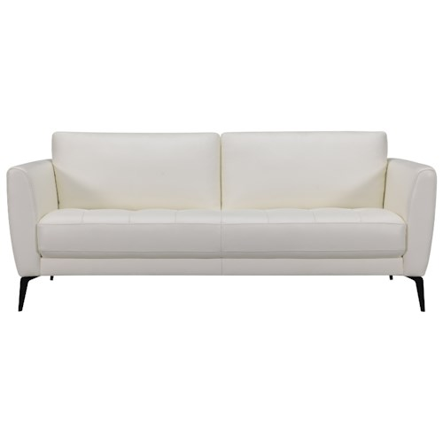 Violino 31678 Modern Apartment Size Sofa Sofa with Tufted Seat