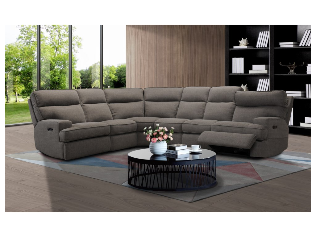 Sarah Randolph Designs 321466 Pc Reclining Sectional Sofa