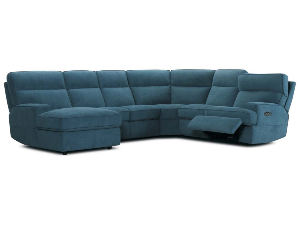 Violino 321466 Pc Reclining Sectional Sofa