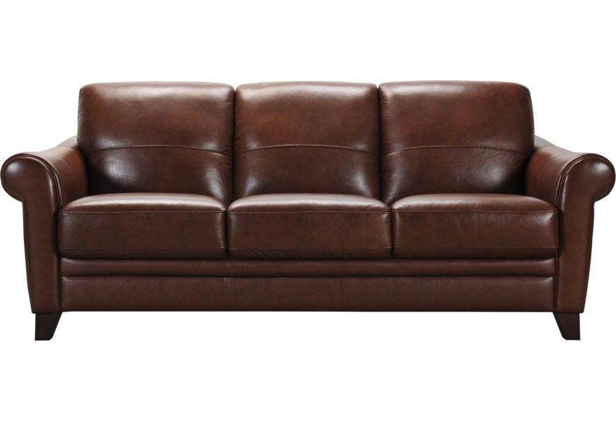 Magnificent 32238 Transitional Leather Sofa By Violino At Furniture Superstore Rochester Mn Machost Co Dining Chair Design Ideas Machostcouk