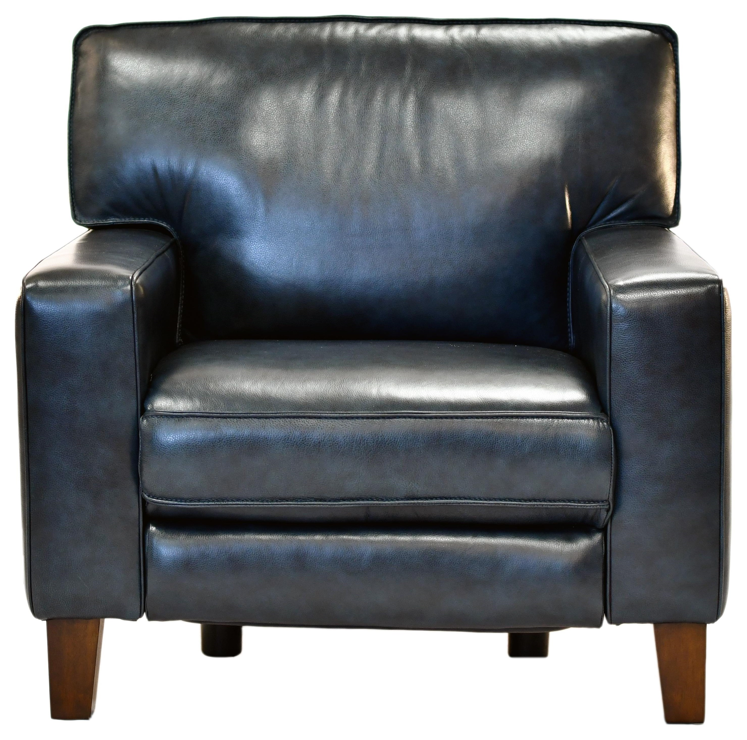 Power Leather Reclining Chair