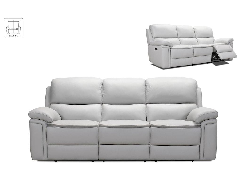 Violino 32693Power Leather Reclining Sofa
