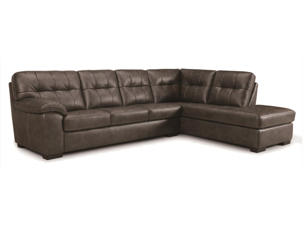 Becker 1950 3638Sectional Sofa with Chaise