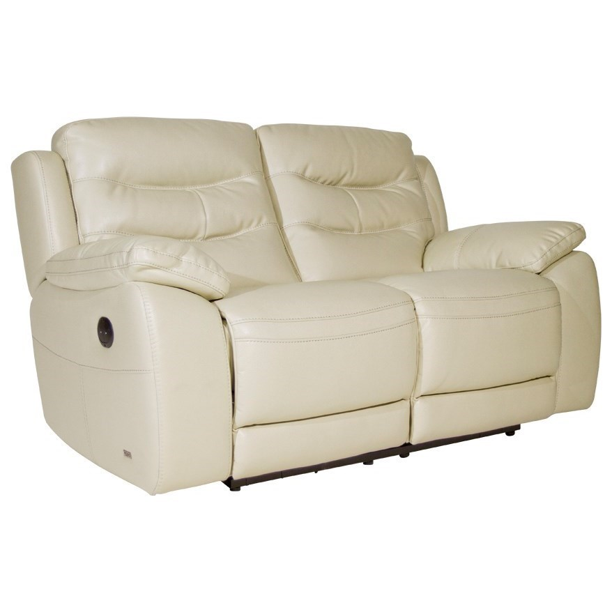 Amity 30846 30846EM-FK-2P Power Reclining Loveseat in Snow White Performance Fabric by Violino  sc 1 st  Dunk \u0026 Bright Furniture & Violino Amity 30846 Power Reclining Loveseat in Snow White ... islam-shia.org