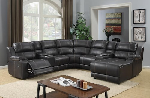 Vogue Home Furnishings Px2212 Sectional