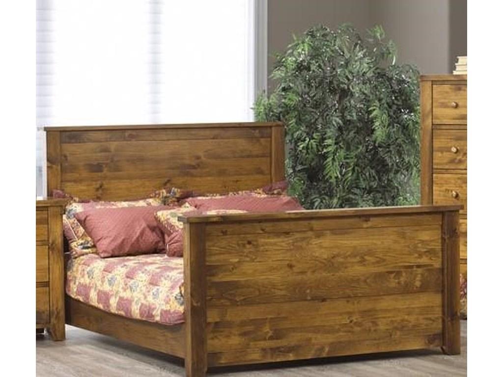 Vokes Furniture Rough SawnQueen Headboard