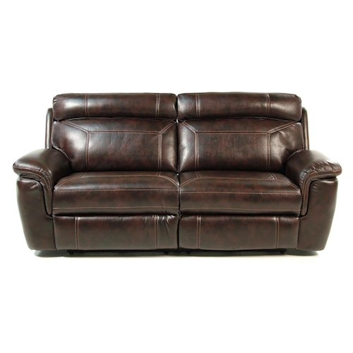 Madison Manor Caleb Power Reclining Sofa