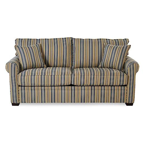 Madison Manor ManorSleep Queen Sleeper Sofa w/ Gel Memory Foam Mattress