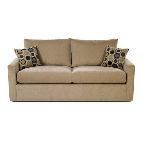 Madison Manor Sleepers Contemporary Queen Sleep Sofa