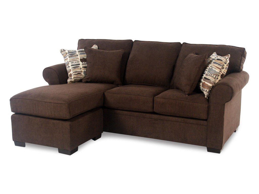 Madison Manor Sleepqueen Sleeper Chaise Sectional