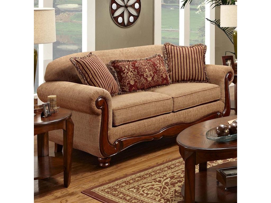Washington Furniture 1000Traditional Sofa