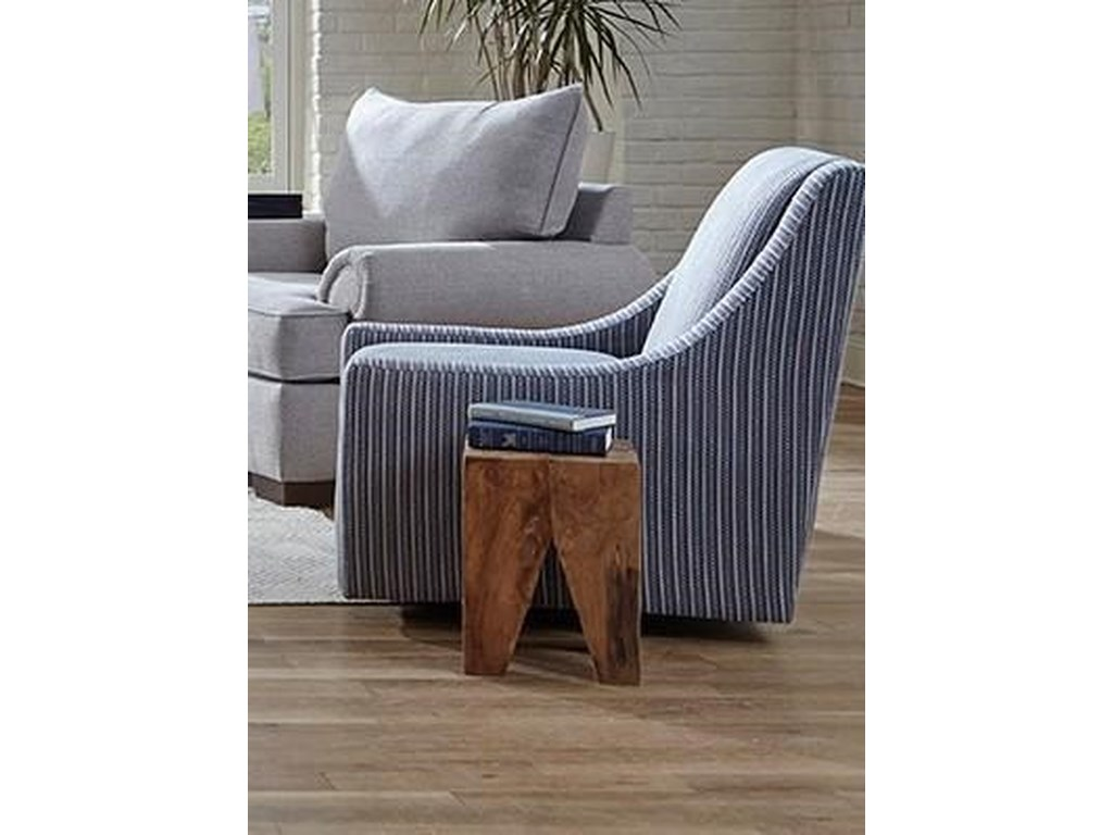 Washington 1082 Azure GraniteSwivel Chair