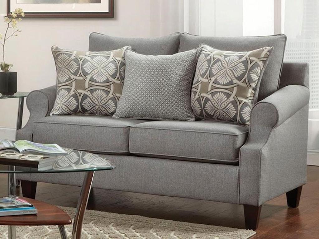Washington Furniture Bay Ridge Loveseat