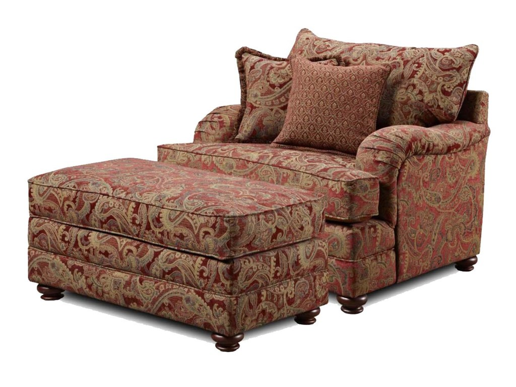 Shown with Ottoman