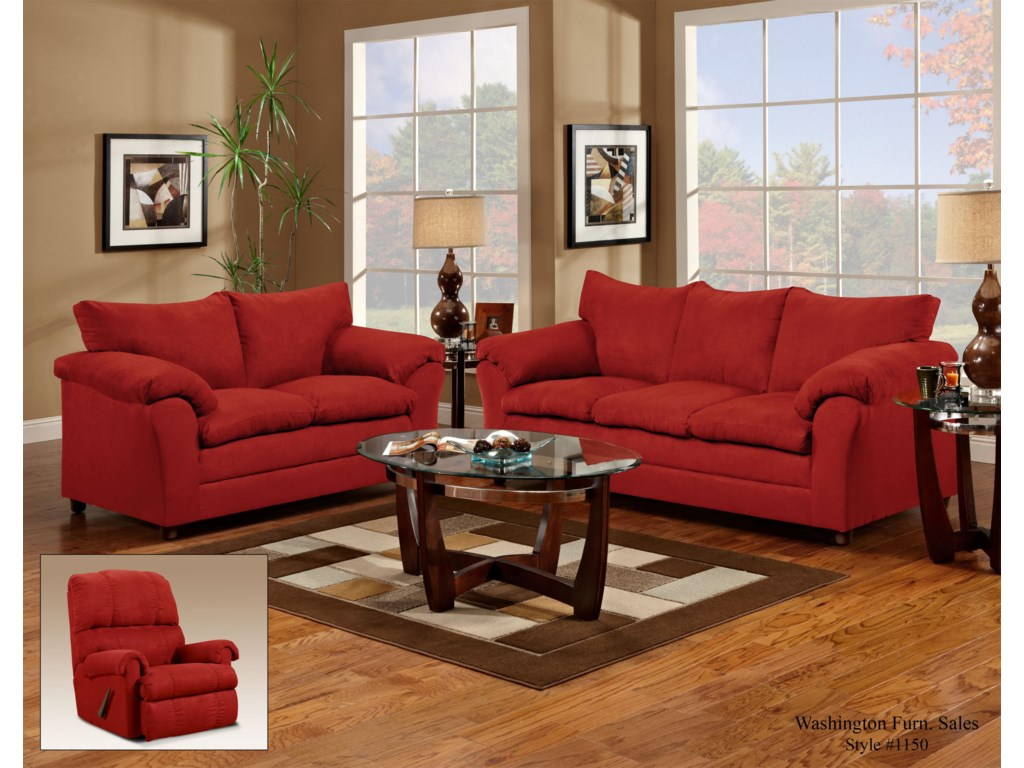 Washington Furniture 1150Loveseat