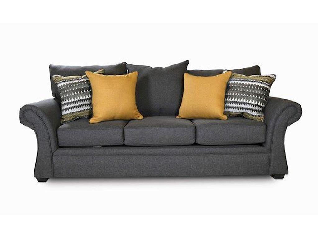 Washington Furniture JitterbugJitterbug Gray Sofa
