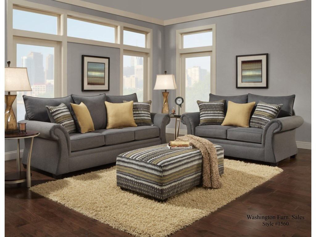 Washington Furniture 1560Living Room Group
